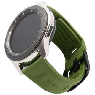 UAG社製 Galaxy Watchバンド GalaxyWatch 46mm用 SCOUTシリーズ(オリーブ) UAG-RGWLS-OL