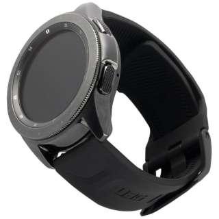 UAG社製 Galaxy Watchバンド GalaxyWatch 42mm用 SCOUTシリーズ(ブラック) UAG-RGWSS-BK