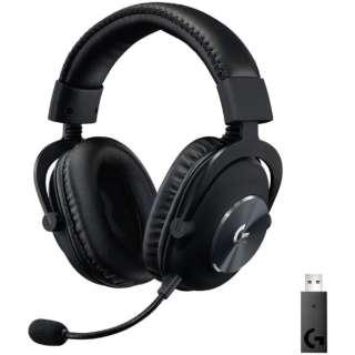 G-PHS-004WL ゲーミングヘッドセット G PRO X Wireless LIGHTSPEED ブラック [ワイヤレス(USB) /両耳 /ヘッドバンドタイプ]