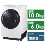 NA-VX700BL-W ドラム式洗濯乾燥機 VXシリーズ クリスタルホワイト [洗濯10.0kg /乾燥6.0kg /ヒートポンプ乾燥 /左開き]