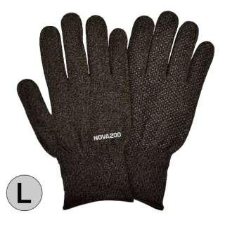 NOVA200 銅抗菌手袋 ブラックミックス Lサイズ