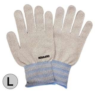 NOVA200 銅抗菌手袋 アイボリーミックス Lサイズ