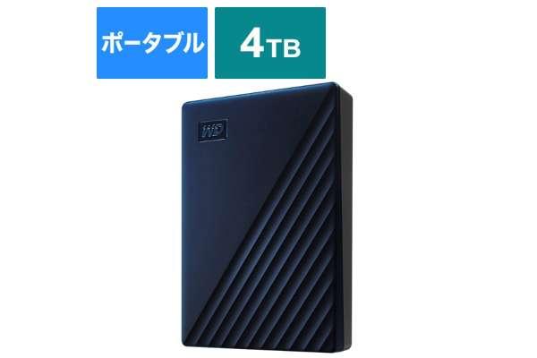 ウエスタンデジタル「My Passport for Mac」WDBA2F0040BBL-JESE(4TB)
