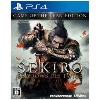 SEKIRO: SHADOWS DIE TWICE GAME OF THE YEAR EDITION 【PS4】