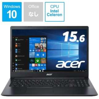 ノートパソコン Aspire 3 チャコールブラック A315-34-A14U/K [15.6型 /intel Celeron /SSD:256GB /メモリ:4GB /2020年8月モデル]