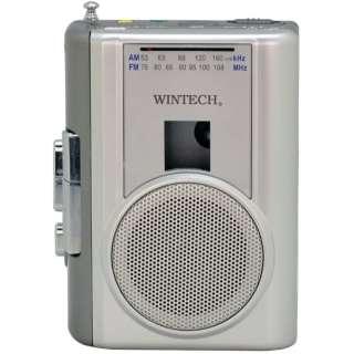ポータブルカセットレコーダー WINTECH PCT-02RM [ラジオ機能付き]