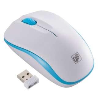 PC-SMWIM32WA ワイヤレスマウス IR LED Mサイズ ホワイト/ブルー