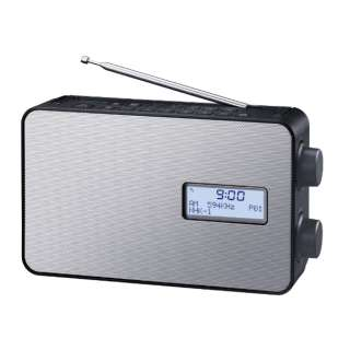 ホームラジオ ブラック RF-300BT-K [防滴ラジオ /AM/FM /ワイドFM対応]