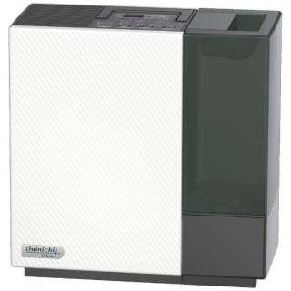 ハイブリッド式加湿器 Dainichi Plus ホワイト×ブラック HD-RX320-WK [ハイブリッド(加熱+気化)式]