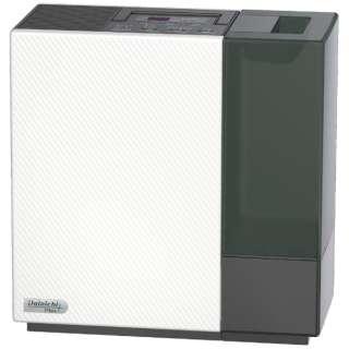 ハイブリッド式加湿器 Dainichi Plus ホワイト×ブラック HD-RX520-WK [ハイブリッド(加熱+気化)式]