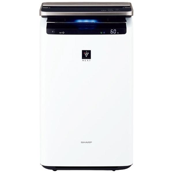 加湿空気清浄機 ホワイト系 KI-NP100-W [適用畳数:46畳 /最大適用畳数(加湿):26畳 /PM2.5対応]
