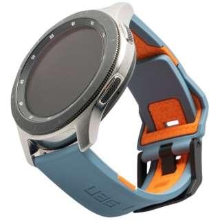 UAG社製 Galaxy Watchバンド 46mm用 CIVILIANシリーズ(スレート/オレンジ) UAG-RGWLC-S/O