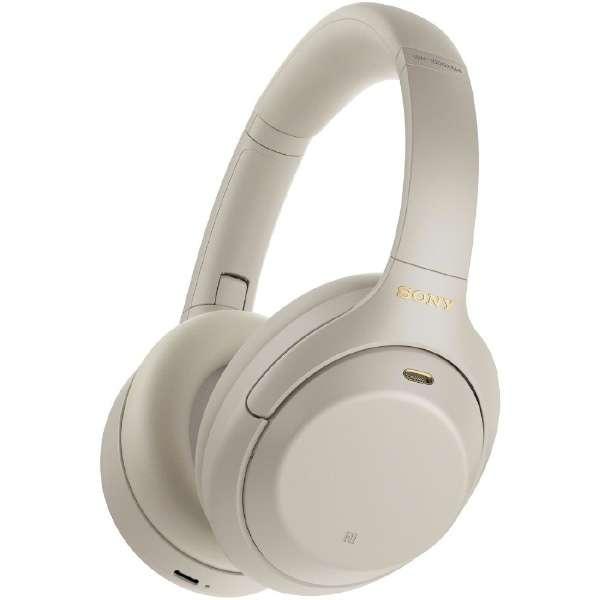 ブルートゥースヘッドホン プラチナシルバー WH-1000XM4SM [リモコン・マイク対応 /Bluetooth /ハイレゾ対応 /ノイズキャンセリング対応]