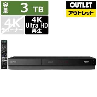 【アウトレット品】 BDZ-FT3000 ブルーレイレコーダー [3TB /3番組同時録画] 【生産完了品】