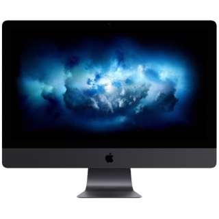 iMac Pro 27インチ Retina 5Kディスプレイモデル[2020年 / SSD 1TB / メモリ 32GB / 3.0GHz 10コア Intel Xeon W ] MHLV3J/A