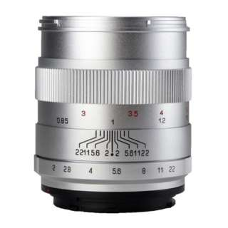 カメラレンズ CREATOR 2/85mm (EF) SV キヤノンEF(フルサイズ)用 シルバー