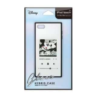 iPod Touch(第5/6/7世代)用 ガラスハイブリッドケース ミッキーマウス/ホワイト Premium Style ミッキーマウス/ホワイト PG-IT7DGT02MKY [iPod touch用]