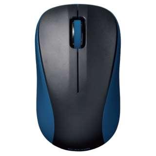 M-BY10BRBU マウス Sサイズ ブルー [IR LED /3ボタン /Bluetooth /無線(ワイヤレス)]
