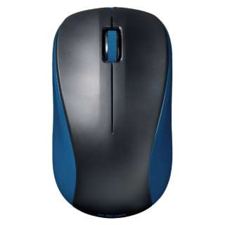 M-BY11BRBU マウス Mサイズ ブルー [IR LED /3ボタン /Bluetooth /無線(ワイヤレス)]