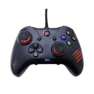 GCPCCAINBL000-0J ゲームパッド C.A.T.7 [USB /Windows /25ボタン]