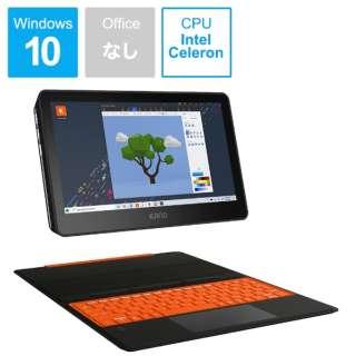 1110J-02 Windowsタブレット+キーボード KanoPC オレンジ [11.6型 /intel Celeron /eMMC:64GB /メモリ:4GB /2020年8月モデル]