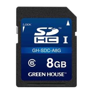 GH-SDC-A8G SDHCカード ドライブレコーダー向け [8GB /Class6]