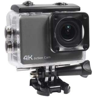 アクションカメラ MC8060BK [4K対応 /防水]