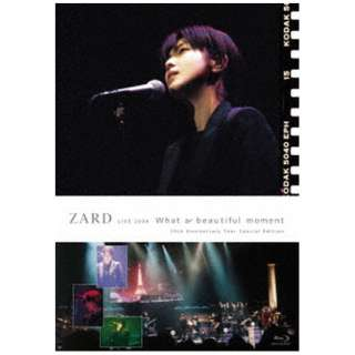 """ZARD/ ZARD LIVE 2004 """"What a beautiful moment""""[30th Anniversary Year Special Edition] 【ブルーレイ】"""