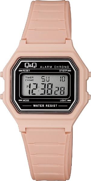 シチズンCBM Q & Q デジタル腕時計 シェル ピンク M173J018