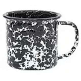 マグカップ Splatter SMALL MUG(236ml・高さ7cm/BLACK)D01