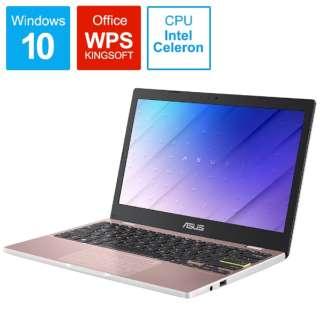 E210MA-GJ002P モバイルノートパソコン ローズゴールド [11.6型 /intel Celeron /eMMC:64GB /メモリ:4GB /2020年9月モデル]