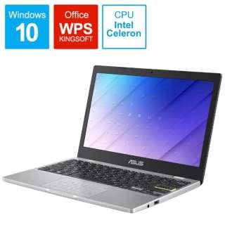 E210MA-GJ003W ノートパソコン ドリーミーホワイト [11.6型 /intel Celeron /eMMC:64GB /メモリ:4GB /2020年8月モデル]