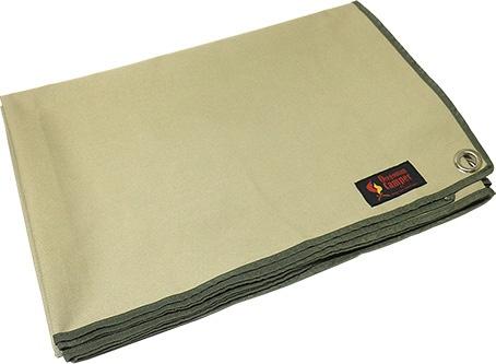 防水グランドシート(Lサイズ:200×140cm/KHAKI(カーキ)) 7OCA501