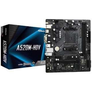 マザーボード A520M-HDV [MicroATX /Socket AM4]