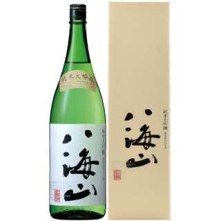 八海山 純米大吟醸 1800ml【日本酒・清酒】