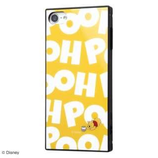 iPod touch 7th/6th/5th(2014/2012) 耐衝撃ハイブリッドケース KAKU くまのプーさん RS-DT8K3TB/PO019