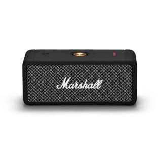 ブルートゥーススピーカー EMBERTON-BLACK ブラック [防水 /Bluetooth対応]