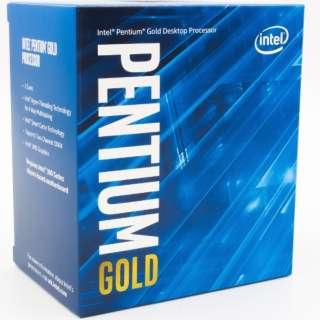 〔CPU〕 Intel Pentium Gold G6500 BX80701G6500