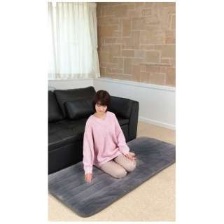 CPRG182HZ らく寝ぼう 超ふかふかタイプ グレー [シングルサイズ /敷毛布]