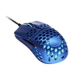 MM-711-MBOL1 ゲーミングマウス MasterMouse MM711 Metallic Blue Edition [光学式 /7ボタン /USB /有線]
