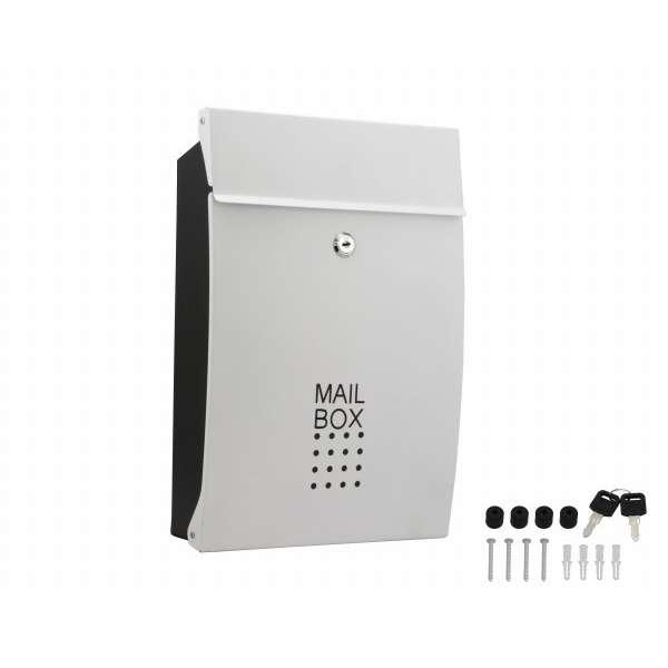 60706 SHPB05A-WB メールボックス ホワイト 00060706-001