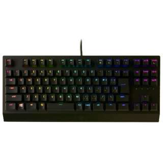 RZ03-03491400-R3J1 ゲーミングキーボード BlackWidow V3 TKL JP Classic Edition-Green Switch [USB /有線]