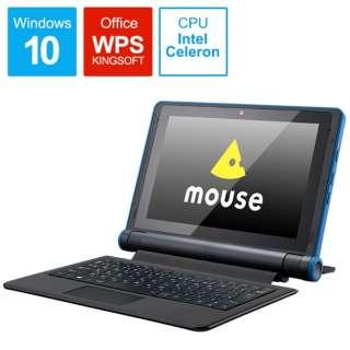 ME10cel200801 Windowsタブレット / ノートパソコン mouse(セパレート型) [10.1型 /intel Celeron /eMMC:64GB /メモリ:4GB /2020年8月モデル]