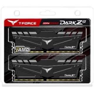増設メモリ DARK Zα DDR4 (FOR AMD) TDZAD416G3600HC18JDC01 [DIMM DDR4 /8GB /2枚]