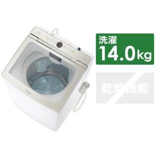 全自動洗濯機 Prette(プレッテ) ホワイト AQW-GVX140J-W [洗濯14.0kg /乾燥機能無 /上開き]