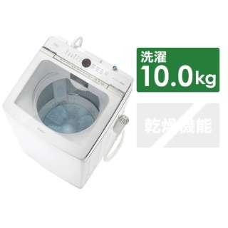 全自動洗濯機 Prette(プレッテ) ホワイト AQW-GVX100J-W [洗濯10.0kg /乾燥機能無 /上開き]
