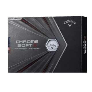 BL CG CHROME SOFT X 20 3B PK JV ゴルフボール CALLAWAY