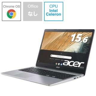 CB315-3H-A14N ノートパソコン Chromebook (クロームブック) 315 ピュアシルバー [15.6型 /intel Celeron /eMMC:32GB /メモリ:4GB /2020年10月モデル]