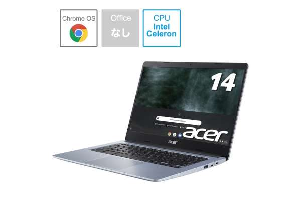 ACER「Chromebook 314」CB314-1H-A14N(14インチ)