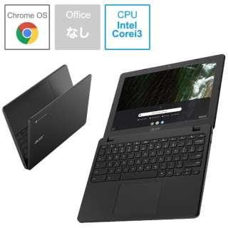 ノートパソコン Chromebook (クロームブック) 712 シェールブラック C871T-A38N [12.0型 /intel Core i3 /eMMC:32GB /メモリ:8GB /2020年10月モデル]
